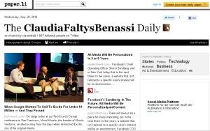 paperli claudiafalt ClaudiaFaltysBenassi Daily