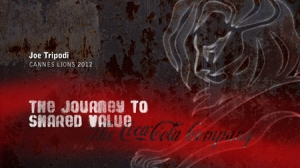 The Journey to Shared Value - coca cola storytelling